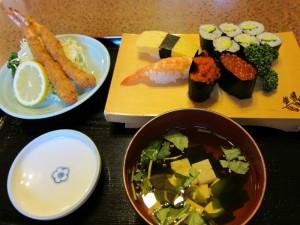 お子様寿司定食