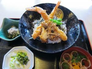 タレ海老丼