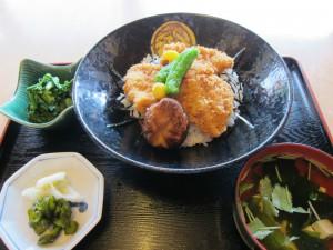 タレカツ丼 (3)